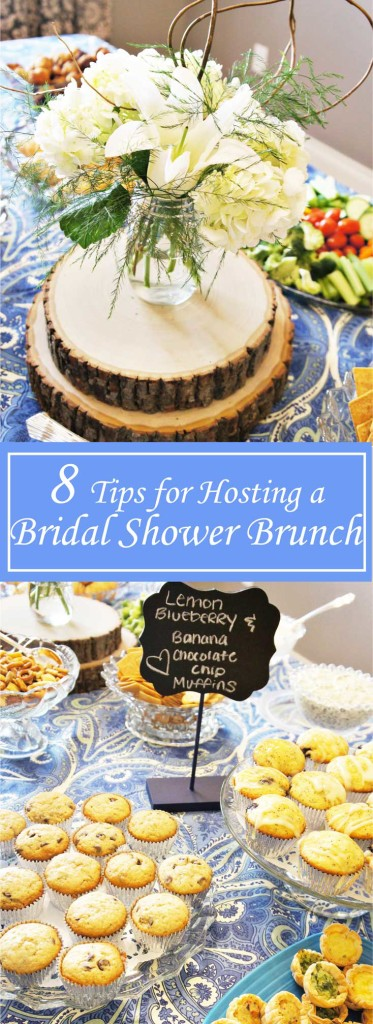 8 Tips for Hosting a Bridal Shower Brunch