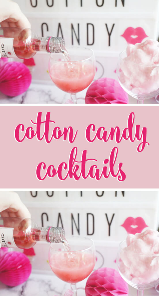 Cotton Candy Cocktail will sweeten up your next girls night or bachelorette party!