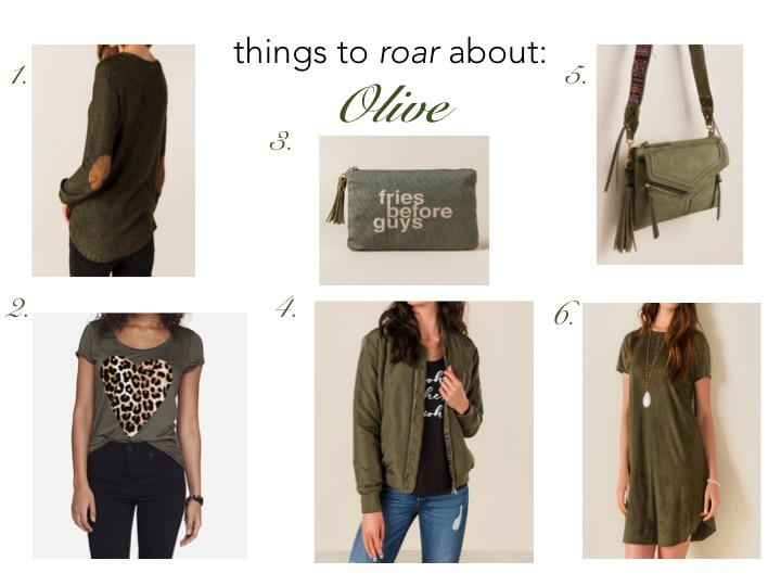 Olive Green Style Board