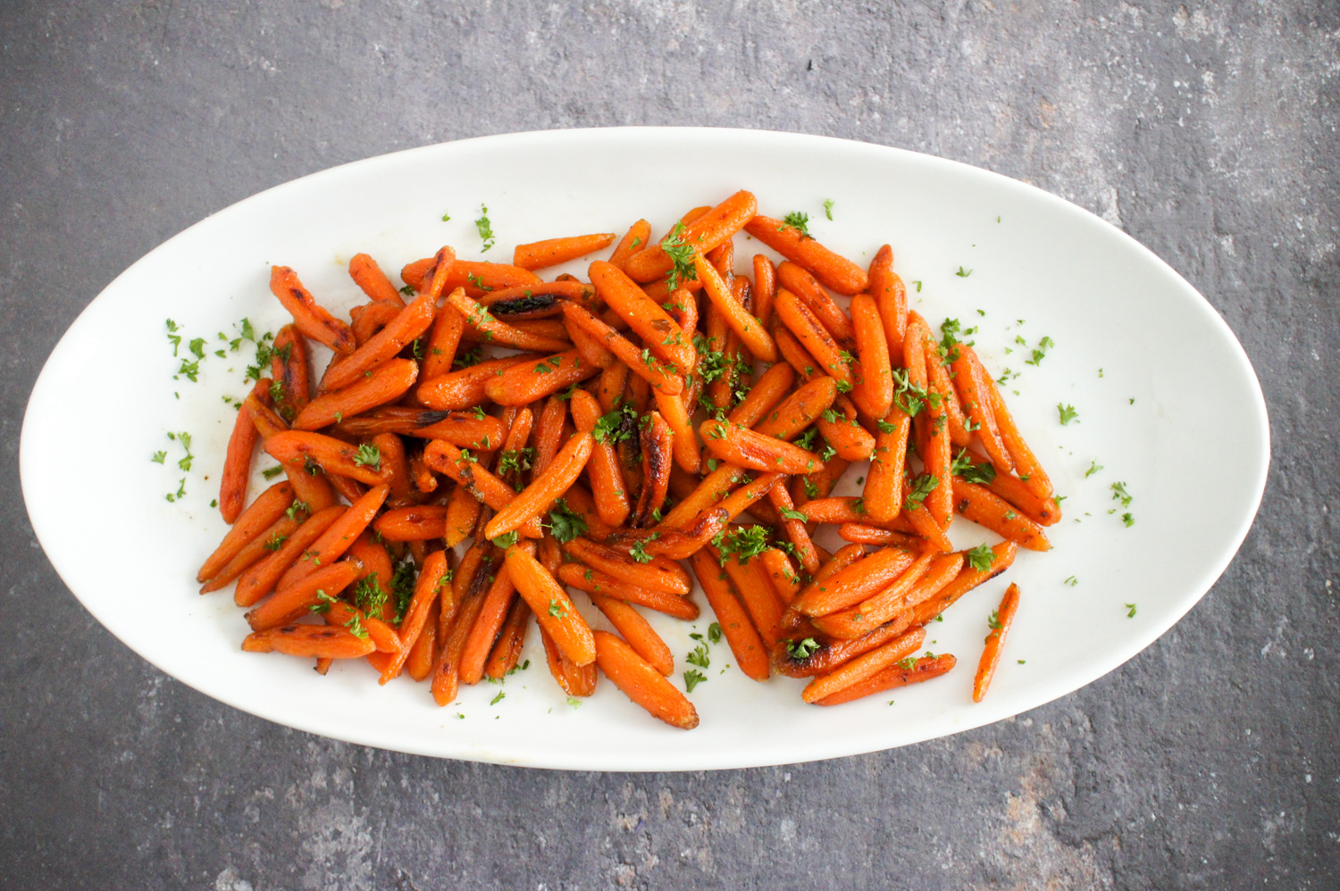 honey glazed carrots, roasted carrots, side dish, carrot recipe, quick recipe,
