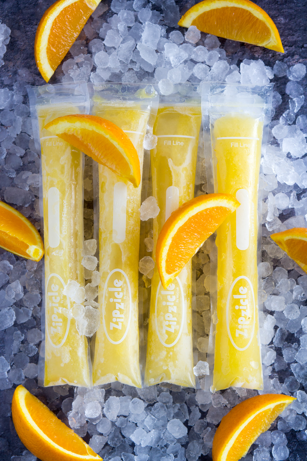 mimosa ice pops, popsicles, summer, happy hour, mimosa, drinks, champagne, drink recipe, summer